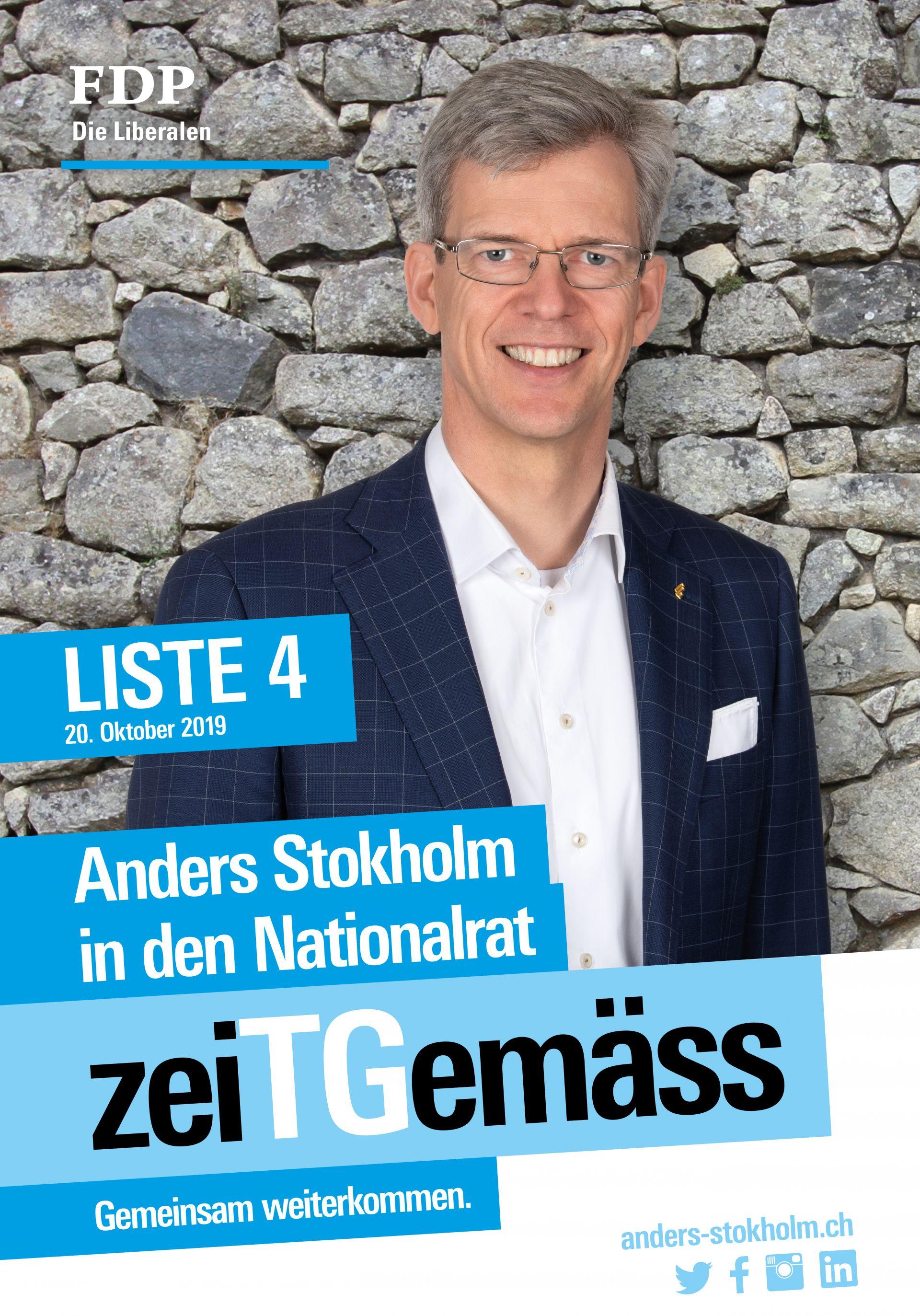 Anders Stokholm nach Bern