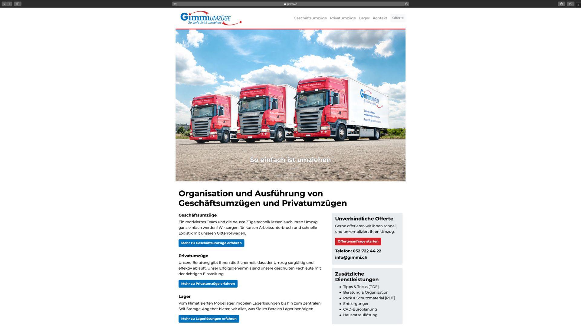 Gimmi Umzüge AG