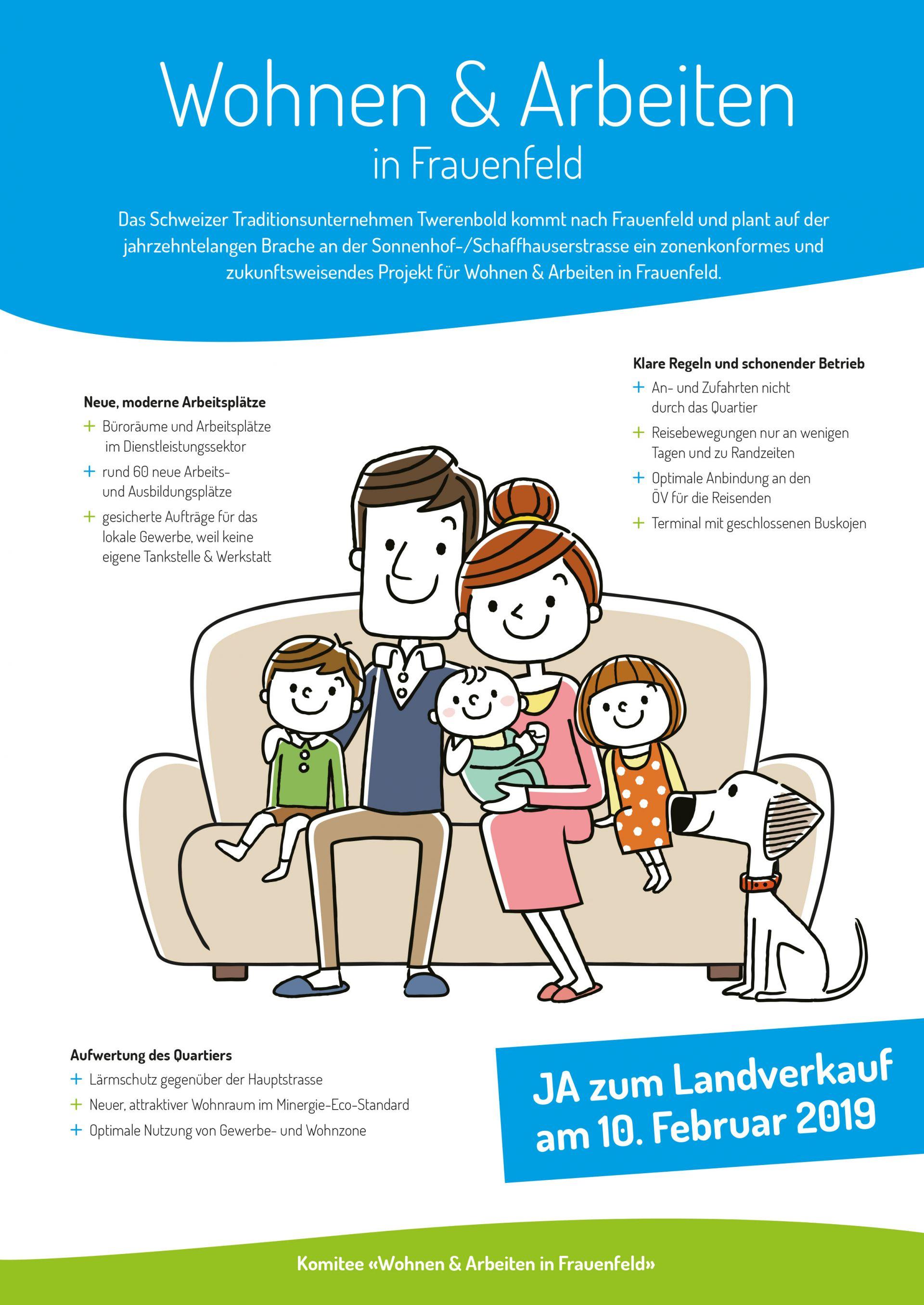 Wohnen & Arbeiten in Frauenfeld